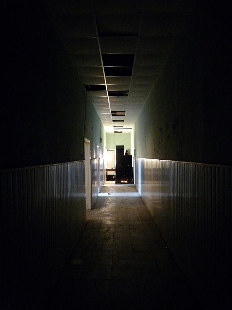 длиииинный коридор
